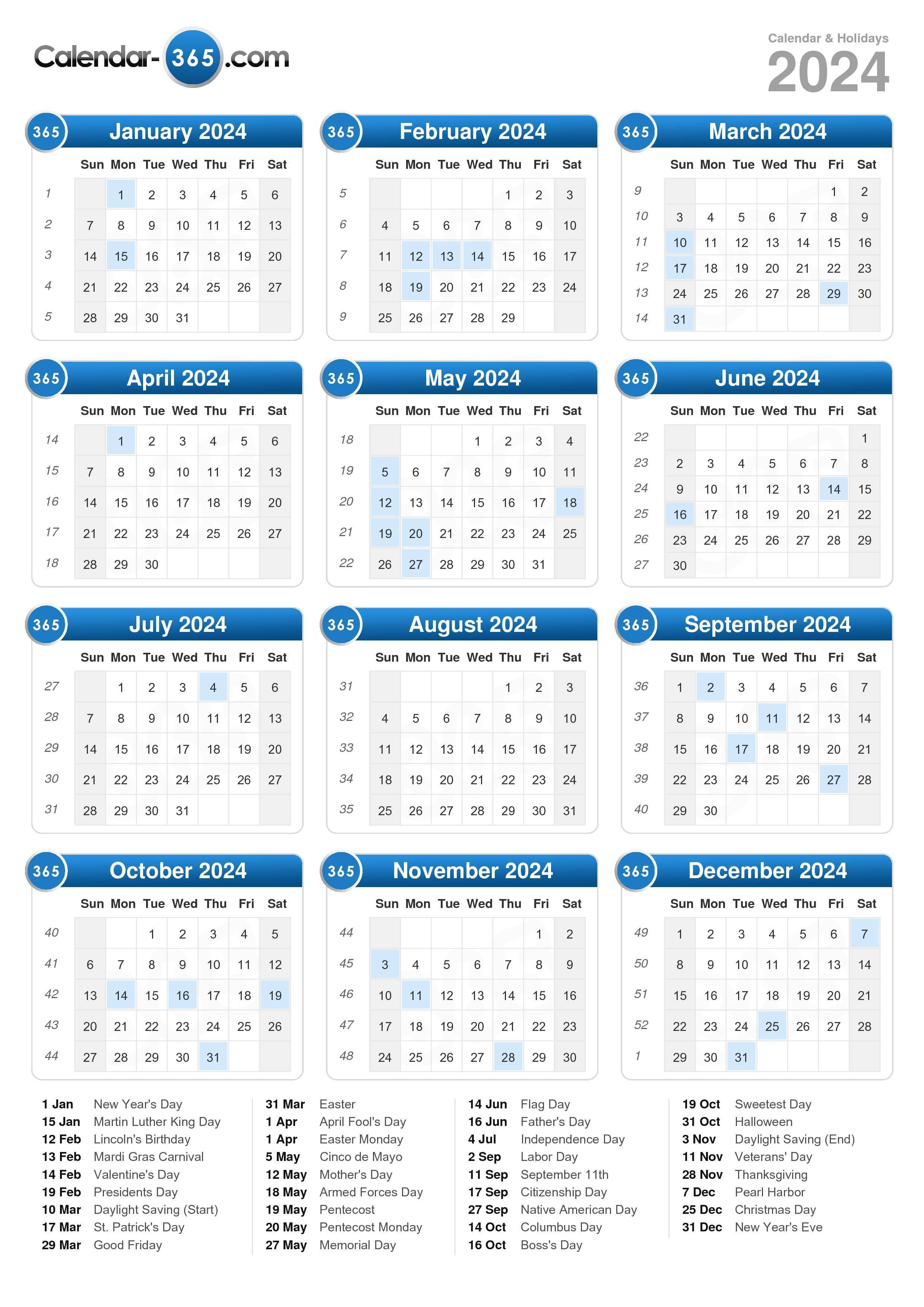 Calendar A : Calendar