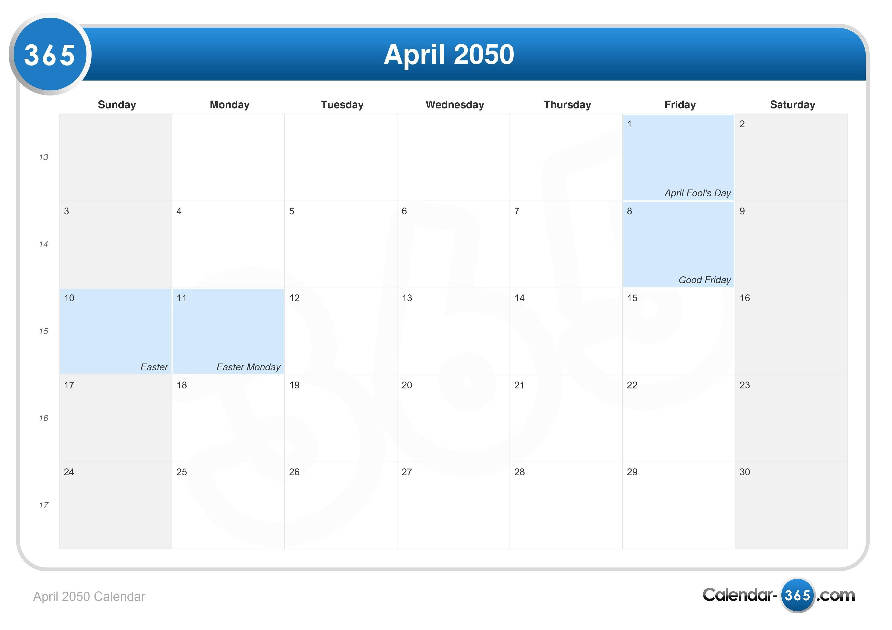 Perpetual Calendar 1800 To 2050 : Calendar