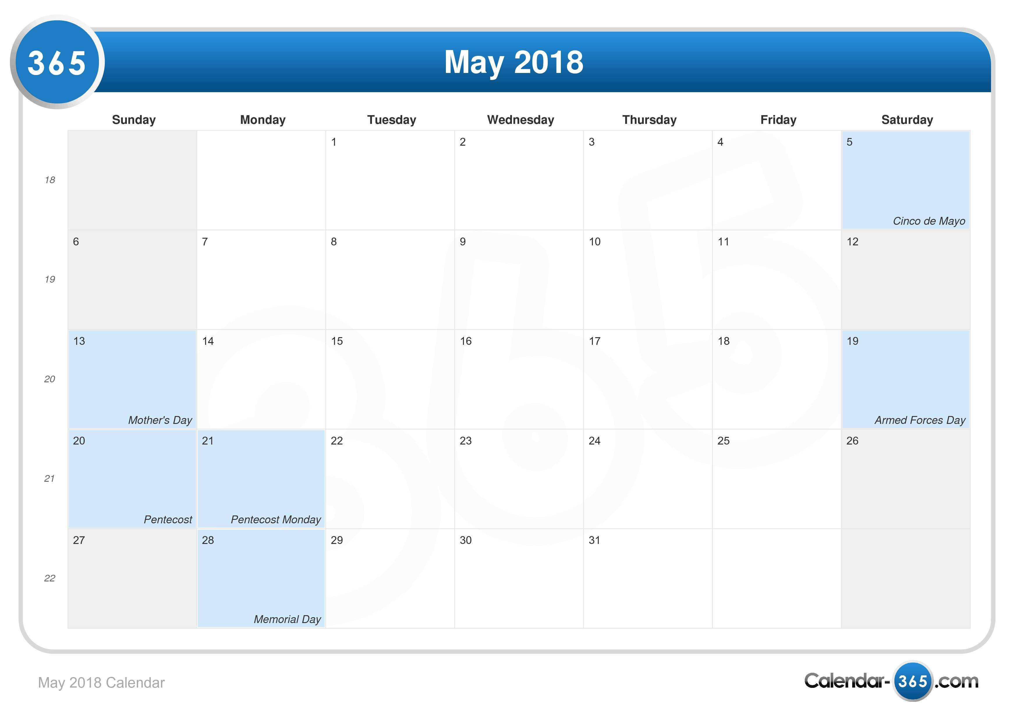 May Calendar Special Days : May calendar holidays special days mothers day