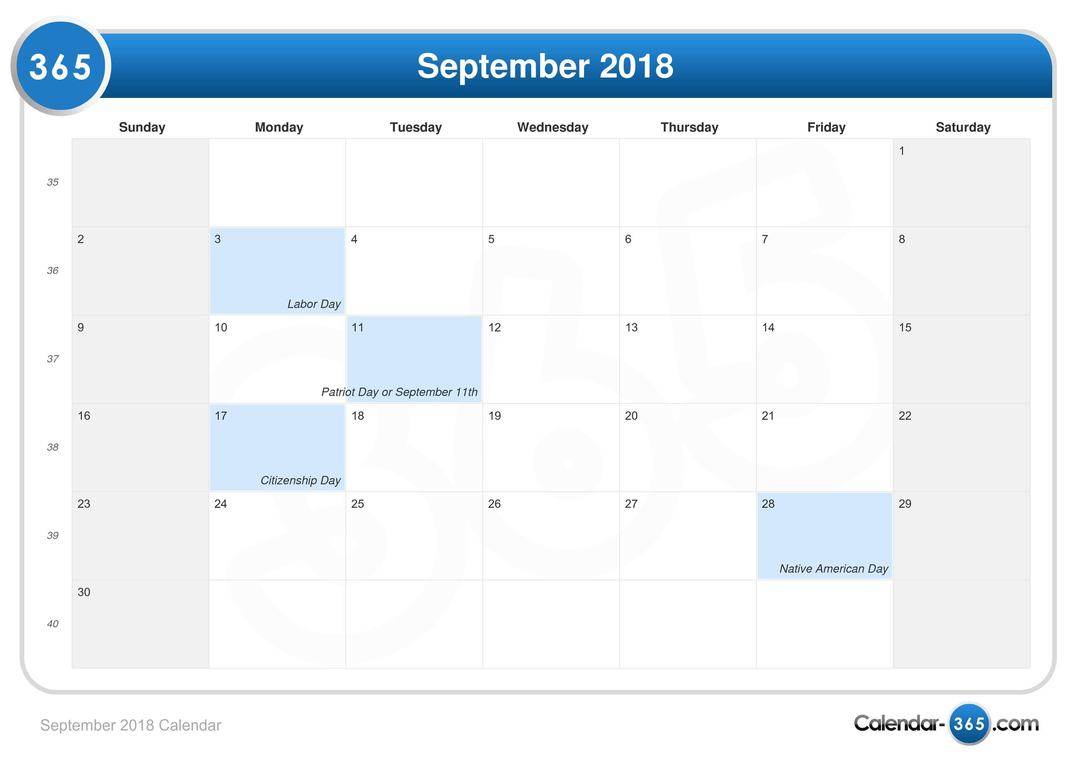 september 2018 calendarjpg